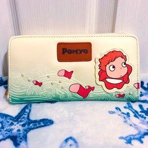NWOT 🌊 Studio Ghibli Ponyo Ocean Wave Wallet